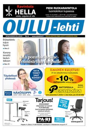 Lue uusin Oulu-lehti tästä
